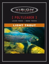 Vision Polyleader Light Trout 5ft