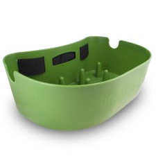 Linekurv Stripping Basket Green With Belt