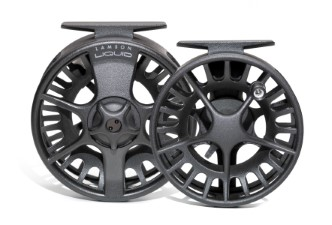 Waterworks Lamson Liquid Black Reel