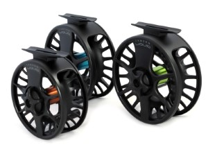 Waterworks Lamson Liquid Black Fly Reel