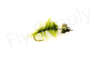 Marabou Green Drake Emerger #12