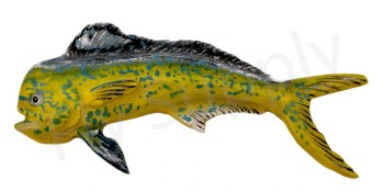 Dorado Large Hand Painted Pin