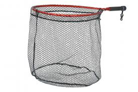 McLean Weigh-Net Size M Short Handle Red - Rubber