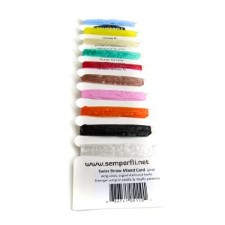Semperfli Swiss Straw 10 colors Multi Card