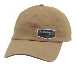 Simms Oil Cloth Cap Honey Brown