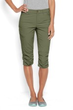 Orvis Womens Guide Capris Olive
