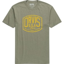 Orvis Badge Logo Military Olive T-Shirt