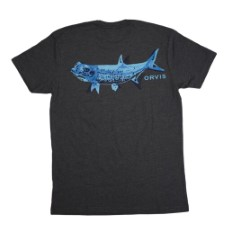 Orvis Tarpon Bones Charcoal Heather T-Shirt