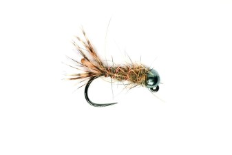Fulling Mill Peeping Caddis Jig Barbless Tungsten Nymph #14