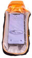 Pacific Outdoor Waterproof G-Pouch Clear/Orange