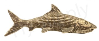 Pewter Bonefish Pin