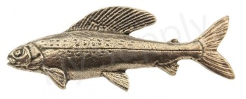 Pewter Grayling Pin