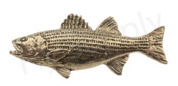 Pewter Striper Pin