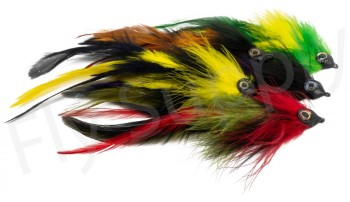 Pike Feather Streamer Set 5pc