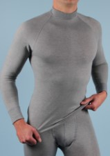 RJ Breathable Thermo Shirt Long Sleeves Grey