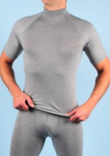 RJ Breathable Thermo Shirt Short Sleeves Grey