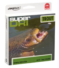 Airflo Ridge Super Dri Nymph Indicator WF Floating Pale Orange Fly Line