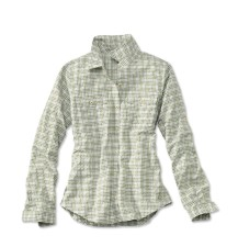 Orvis Rainy Bridge Long Sleeve Shirt Sage