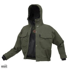 Geoff Anderson Raptor 5 Green Jacket