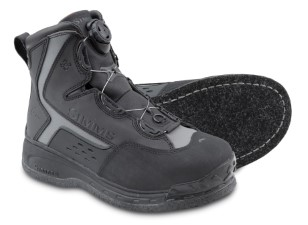 Simms Rivertek BOA Felt Boot Black