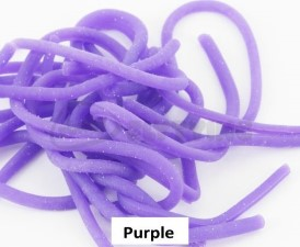 Squirmy Worms Purple