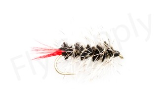 Wooly Worm Black #8