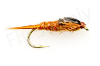 Early Brown Stone Fly Heavy #12