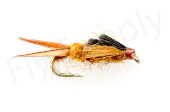 Early Brown Stone Fly Heavy #16