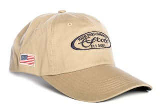 Scott Cap Longbill Tan With Blue Oval Scott Logo