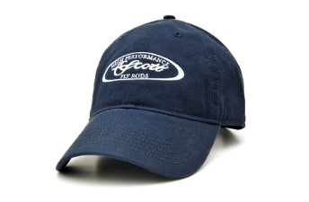 Scott Navy Cap With White Oval Logo