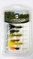 Euro Flies Woolly Bugger Selection 14