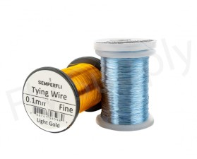 Semperfli Ultra Thin 0.1mm Wire On Spool