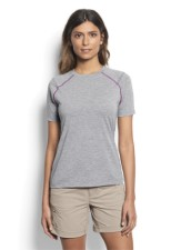 Orvis Womens Drirelease Shortsleeve Tee Heather Grey