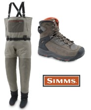 Simms G3 Guide Stockingfoot Greystone Wader And G3 Guide Boot Vibram Dk. Elkhorn