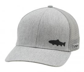 Simms Payoff Trucker Trout Heather Grey