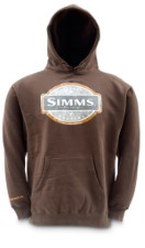 Simms Pullover Hoody Cocoa Size XL
