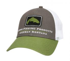 Simms Trout Icon Trucker Cyprus Cap