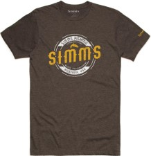 Simms Wader MT T-Shirt Brown Heather