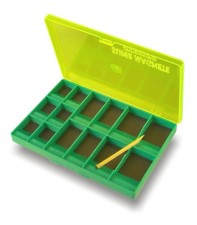 Stonfo Magnetic Hook Box 14 Compartments Green