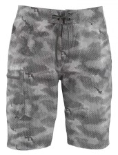 Simms Surf Short Prints Hex Camo Sterling