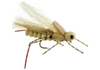 Umpqua Sweetgrass Hopper Tan #8