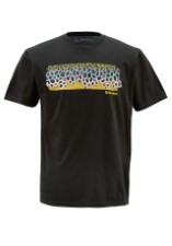 Simms T-Shirt Deyoung Brown Flank Black