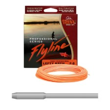 Jim Teeny Distance & Accuracy Floating WF Orange Fly Line