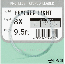 Tiemco Akron Feather Light Leader 9,5ft