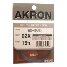 Tiemco Akron Two Hand Leader 15ft - 4,50m