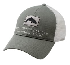 Simms Trout Trucker Cap Olive