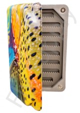 Trout Print Ultra Light Foam Fly Box