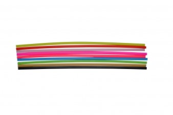 Eumer Plastic Tubing Assortment Multi Color