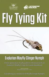 Tying Kit Nymph-Head Evolution Mayfly Clinger Nymph