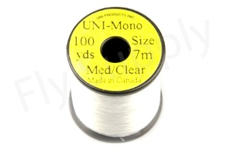 Uni Mono  Medium Clear 100 yds